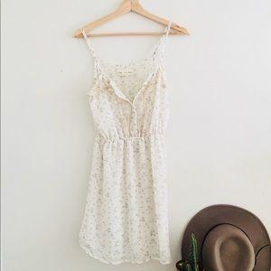 Anthropologie Staring at Stars Babydoll Dress